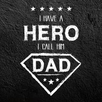 Hero Dad - DeinDesign