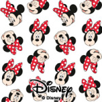Minnie Mouse Pattern - Disney Minnie Mouse