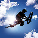Flying so high with my Bike in the Sky - DeinDesign